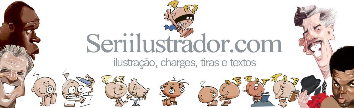 Ilustrações e produtos de Seri